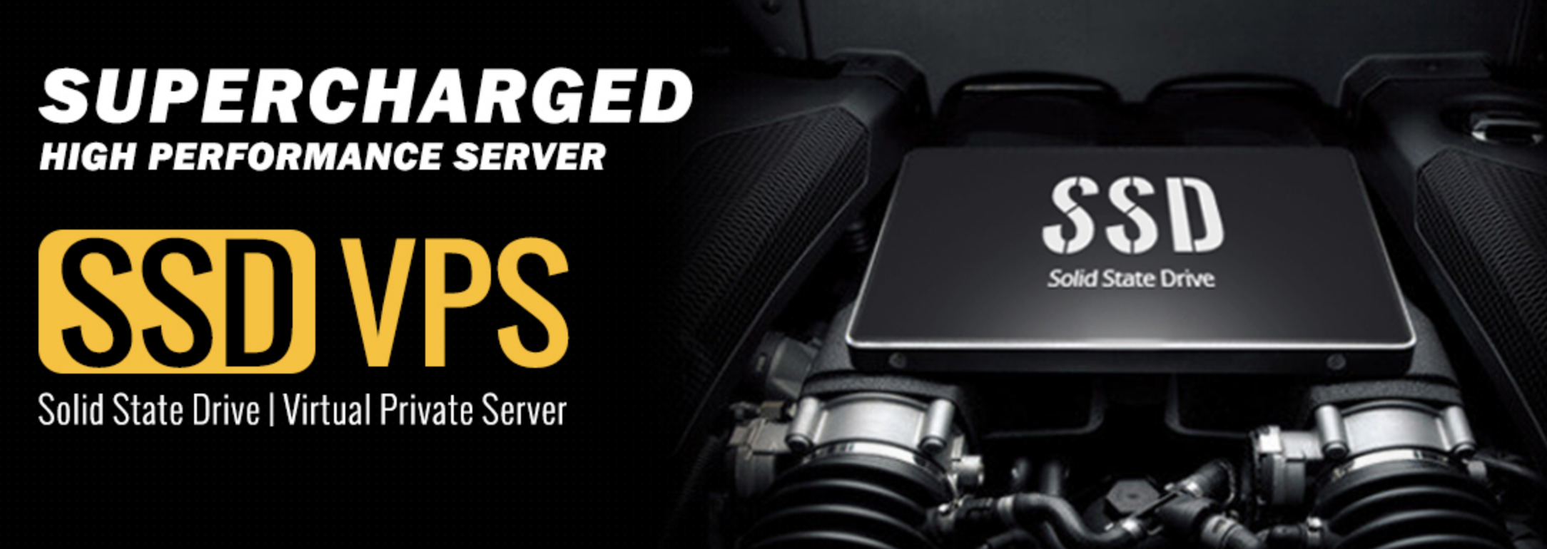 SSD Powered VPSes